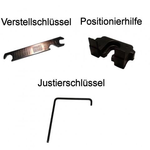 Spezialwerkzeug für die Monatge von Pilzkopfverriegelung activPilot