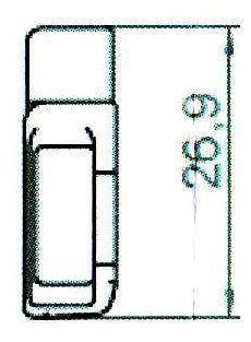 Sicherheitsschließblech SBS.H.9-27 WK2 LS/RS