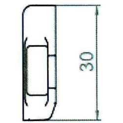 Sicherheitskippschließblech SBK.H.9-30 WK2 LS/RS