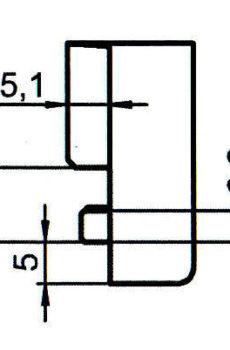 Sicherheitsschließblech SBS.K.161