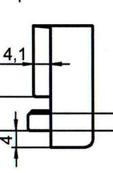 Sicherheitsschließblech SBS.K.169