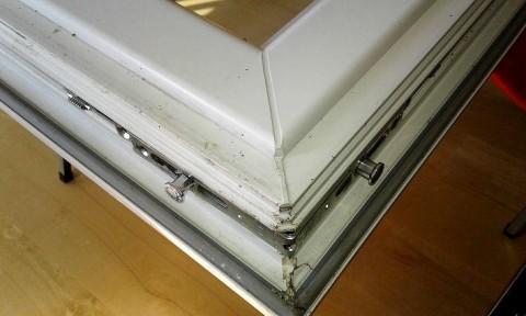 Eckumlenkung Getriebeseite oben und unten - Montageanleitung Pilzkopfverriegelung
