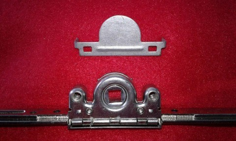 Getriebeschiene mit Anbohrschutz - Montageanleitung Pilzkopfverriegelung