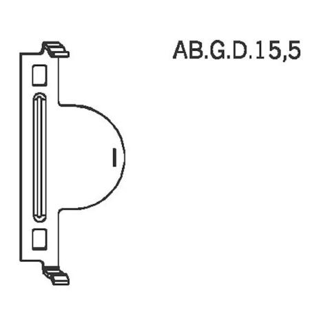 Winkhaus Anbohrschutz AB.G.D 15,5